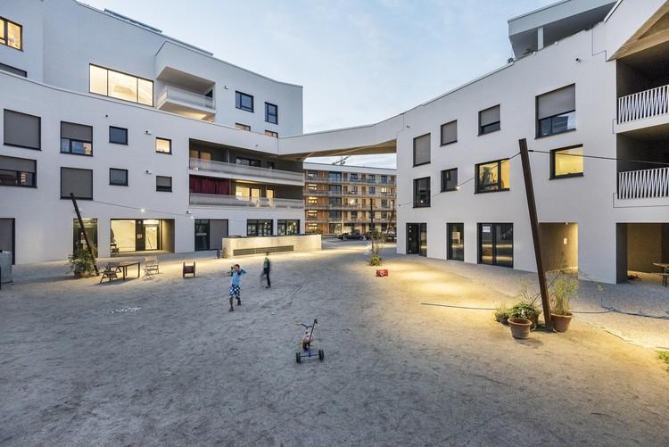 Cooperative Housing Complex wagnisART / bogevischs buero architekten stadtplaner GmbH + SHAG Schindler Hable, © Julia Knop