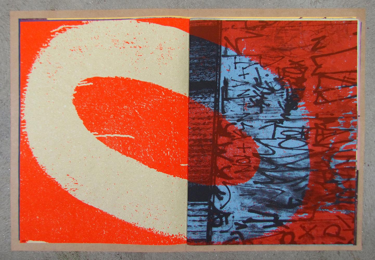 Tipos colados como cartazes [lambe-lambe] do arquiteto e artista gráfico Gilberto Tomé. Imagem: Reprodução.