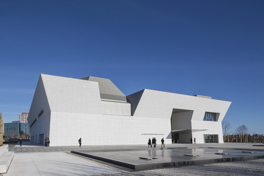 The Aga Khan Museum in Toronto. Image © Shinkenchiku Sha
