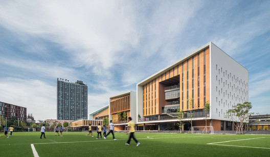 Bangkok International Preparatory & Secondary School II / Plan Architect