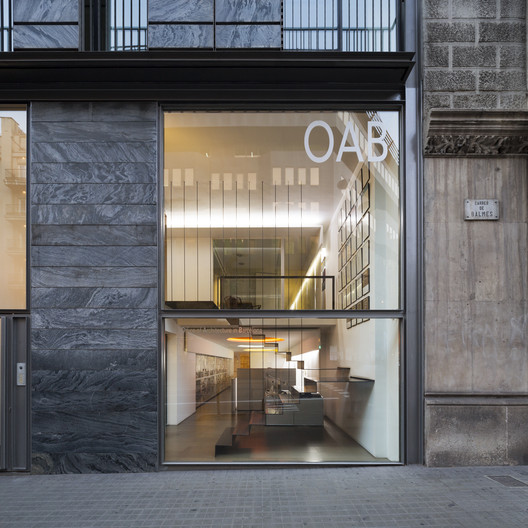 Office of Architecture in Barcelona, SLP (OAB). Image © Marc Goodwin
