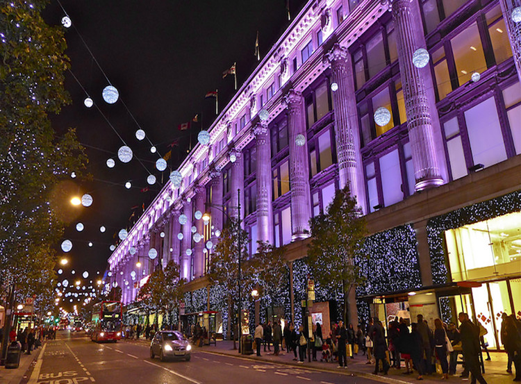Competition: Oxford Street Christmas Illuminations, Oxford Street Christmas Lights