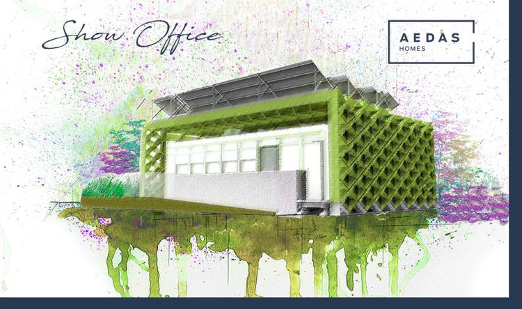 Concurso de ideas para el diseño del show office de Aedas Homes, AEDAS Homes; COAM Colegio Oficial de Arquitectos de Madrid; OCAM Oficina de Concursos de Arquitectura de Madrid