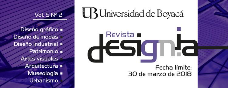 Llamado de artículos para la Revista Designia Vol. 5 Nº 2