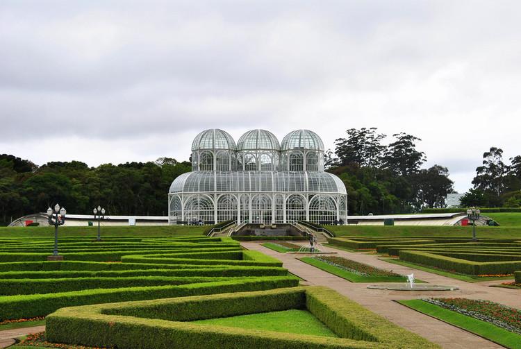 CBCA anuncia tema do 11º concurso para estudantes de arquitetura: pavilhão com estufa para parque botânico, Jardim Botânico de Curitiba. Image © Leandro Neumann Ciuffo, via Flickr. Licença CC BY 2.0
