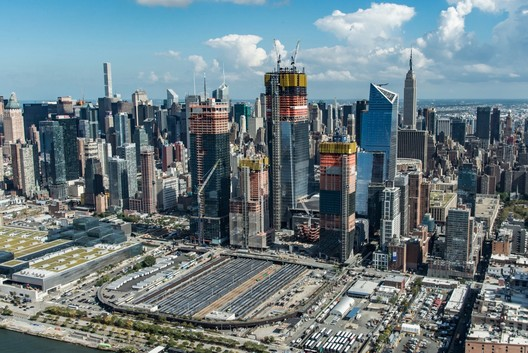 A photograph of Hudson Yards from October 2017. Image Courtesy of Related-Oxford