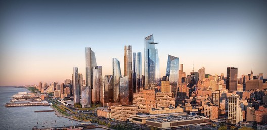 Hudson Yards. Image Courtesy of Related-Oxford