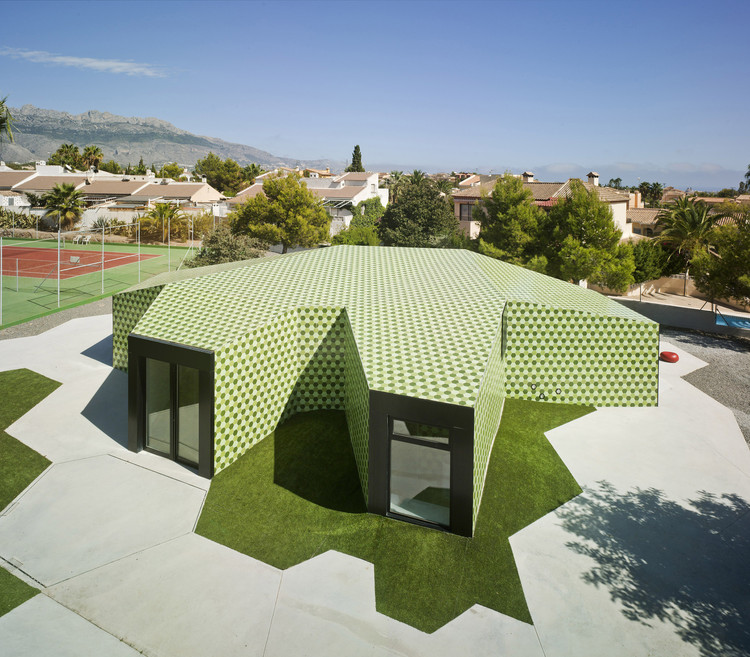 18 different projects that feature the color green archdaily - David frutos ...