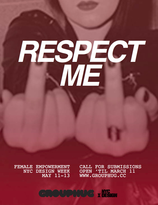 Call for Submissions: RESPECT ME at 2018 NYC Design Week, RESPECT ME. Credit: Krystal Persaud