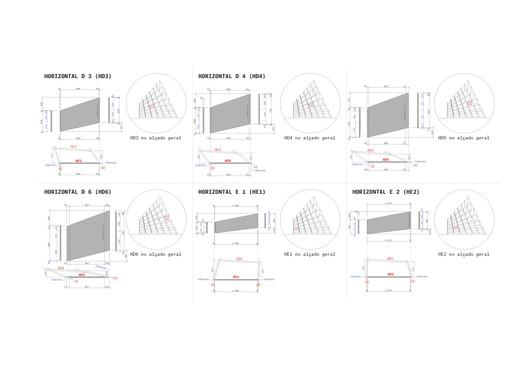 Horizontal Elevation Views Details