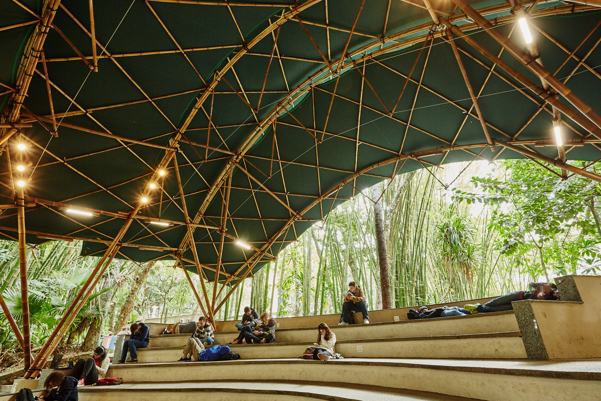 Bamboo Drawing Architecture