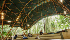 Bamboo Amphitheater Space Structure / Bambutec Design