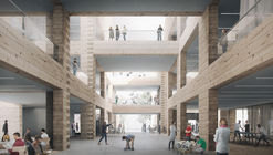 High School and Community Centre Project Tests the Limits of Timber Log Construction