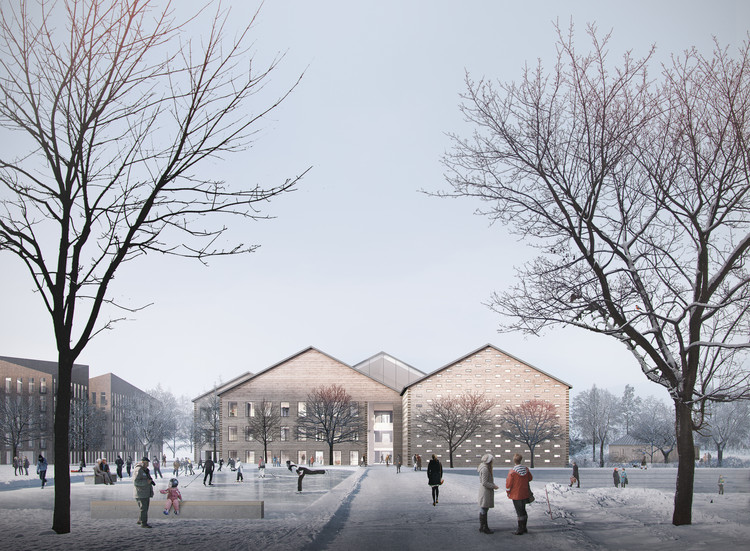 High School and Community Centre Project Tests the Limits of