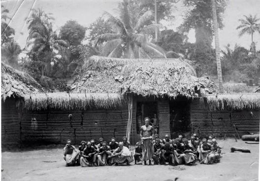 Traditional Benin Architecture. Image Courtesy of Mathias Agbo, Jr