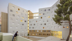 Lucien Cornil Student Residence / A+Architecture