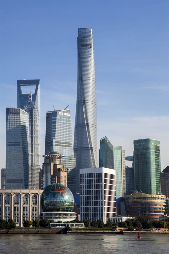 These Are the World's 25 Tallest Buildings,Shanghai Tower. Image © Gensler/Shen Zhonghai