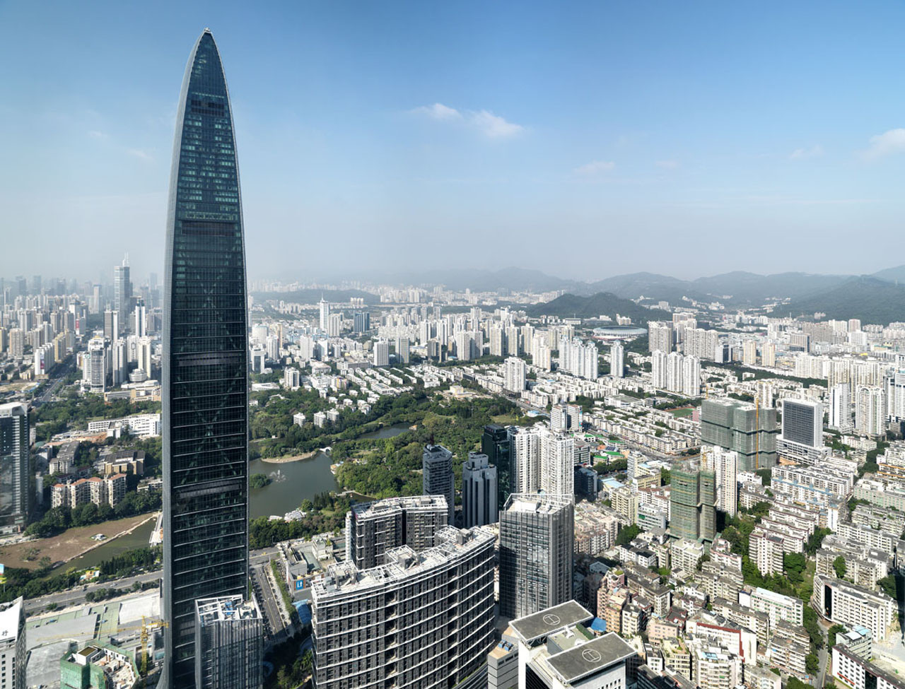 These Are the World's 25 Tallest Buildings,KK100 / TFP Farrells. Image © Carsten Schael
