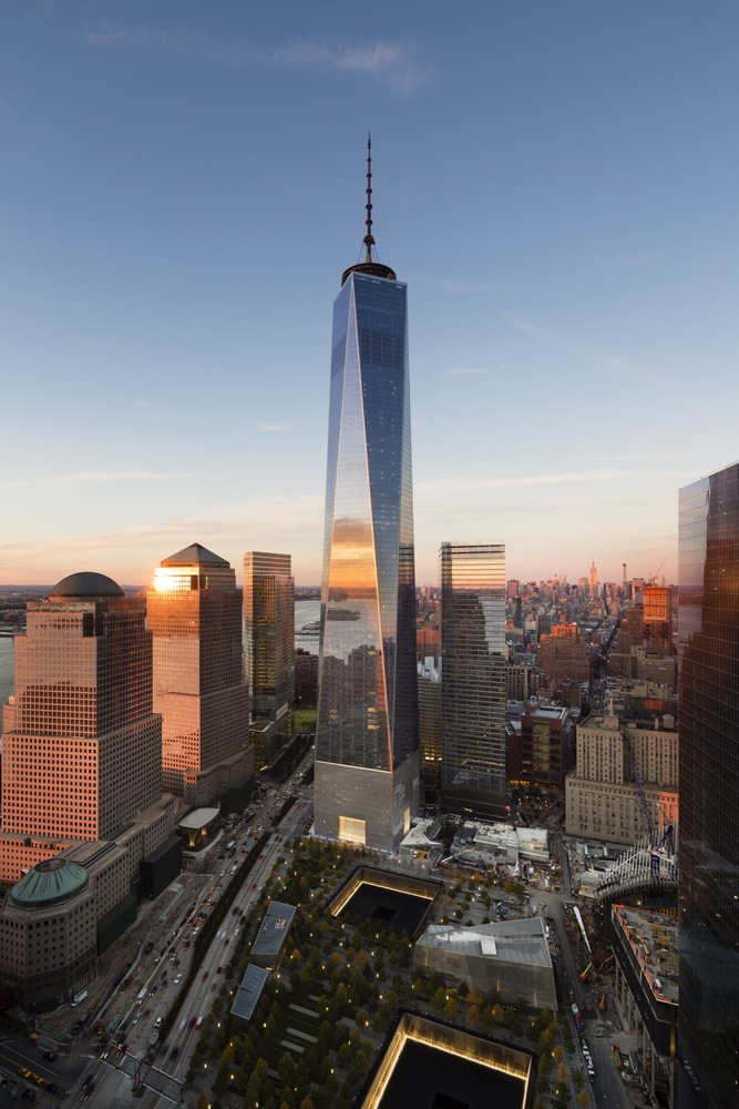 These Are the World's 25 Tallest Buildings,One World Trade Center. Image Cortesía de James Ewing