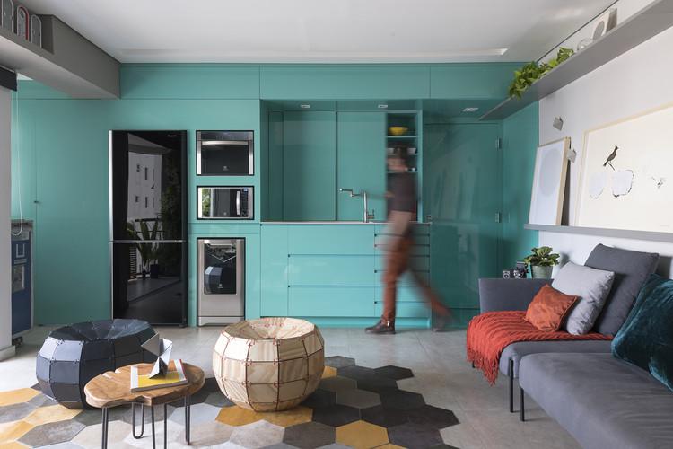 Apartamento Vila Olímpia / FCstudio, © Manu Oristanio