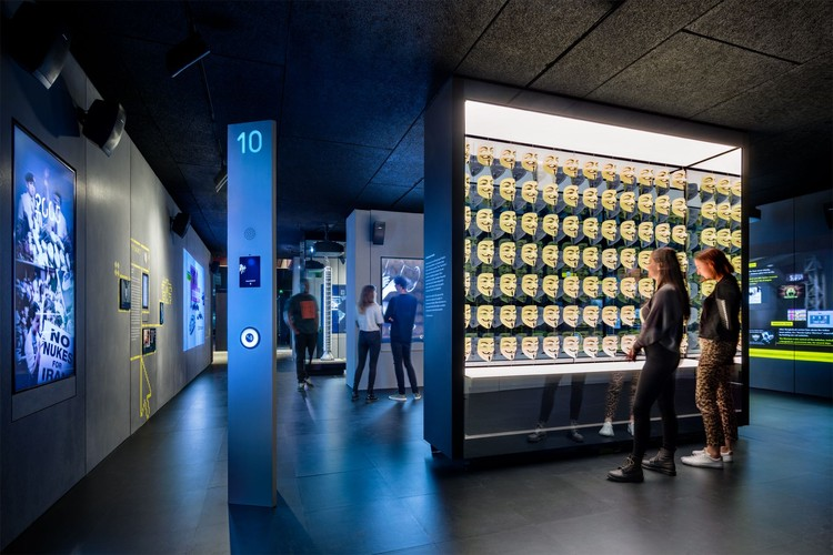 Adjaye Associates' Interactive SPYSCAPE Museum Opens in New