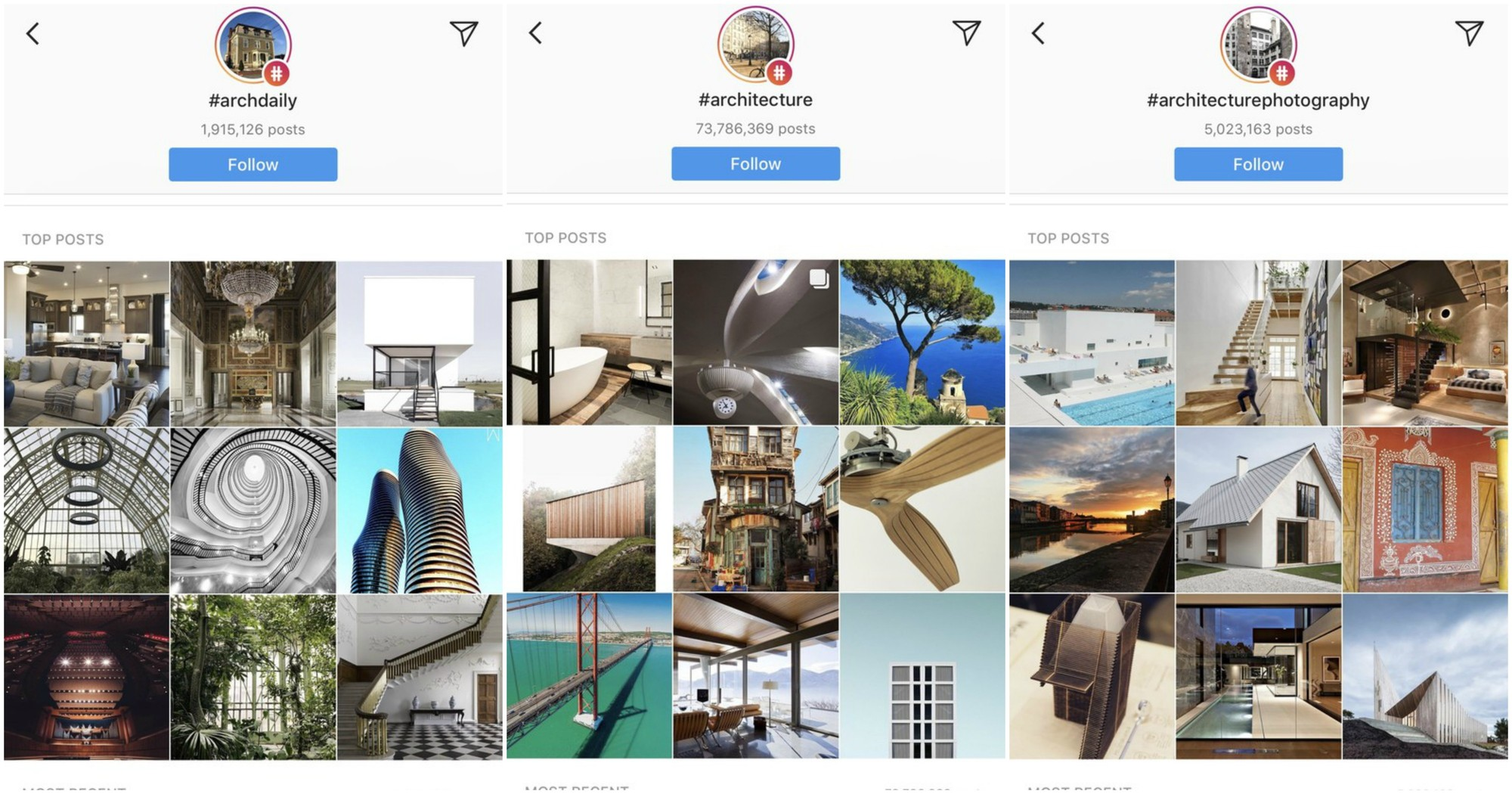 4 best instagram hashtags to follow if you want to see for Hashtag architecture