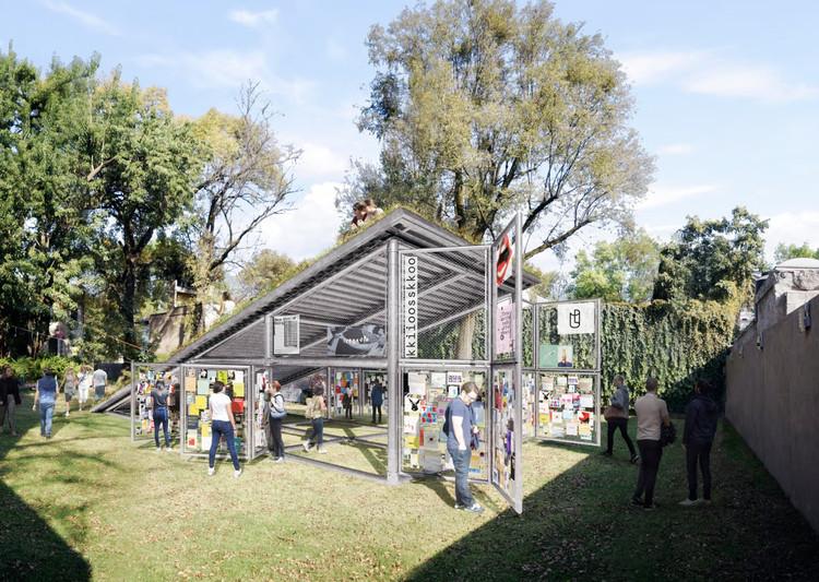 Conoce la propuesta ganadora del Pabellón Kiosko 2018, una iniciativa de Alumnos 47, Cortesía de Alumnos 47