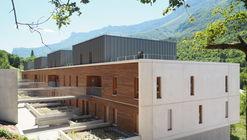 Le Jardin du Côteau / Christian Blachot Architecture