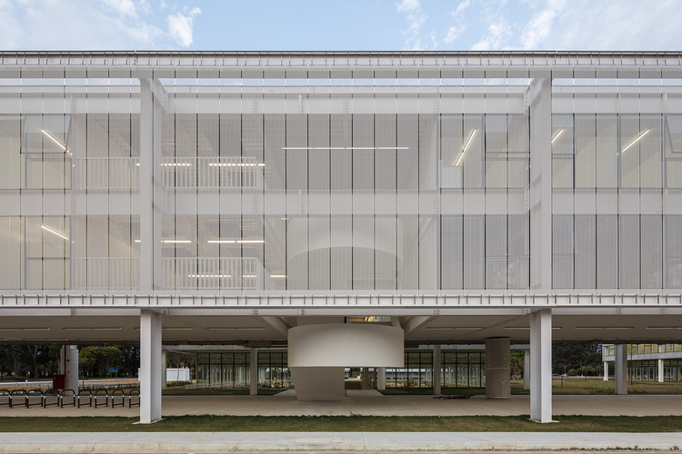 Fundamental Sciences Division Building / METRO Arquitetos, © Leonardo Finotti