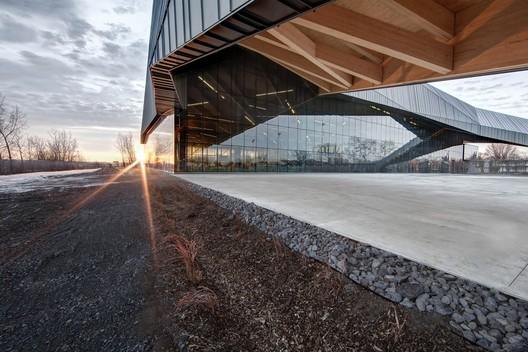 Stade de Soccer de Montréal. Image © Olivier Blouin Photographer