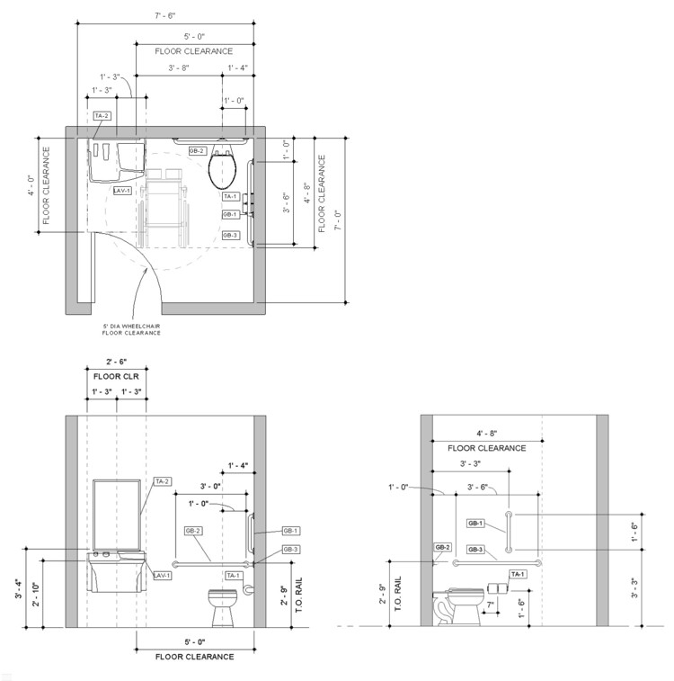 Design a Bathroom for People with Disabilities by