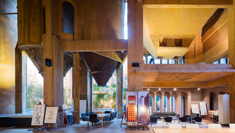 See Ricardo Bofill's Converted Cement Factory Studio Through The Lens Of Marc Goodwin, © Marc Goodwin