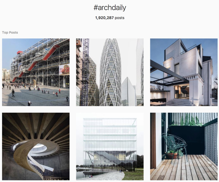 4 Best Instagram Hashtags To Follow If You Want To See Great Architecture Archdaily