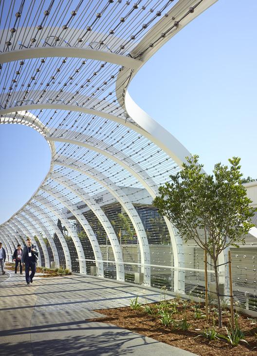 100 Best Corridors Stairs Lighting Images By John: The Rainbow Bridge / SPF: Architects
