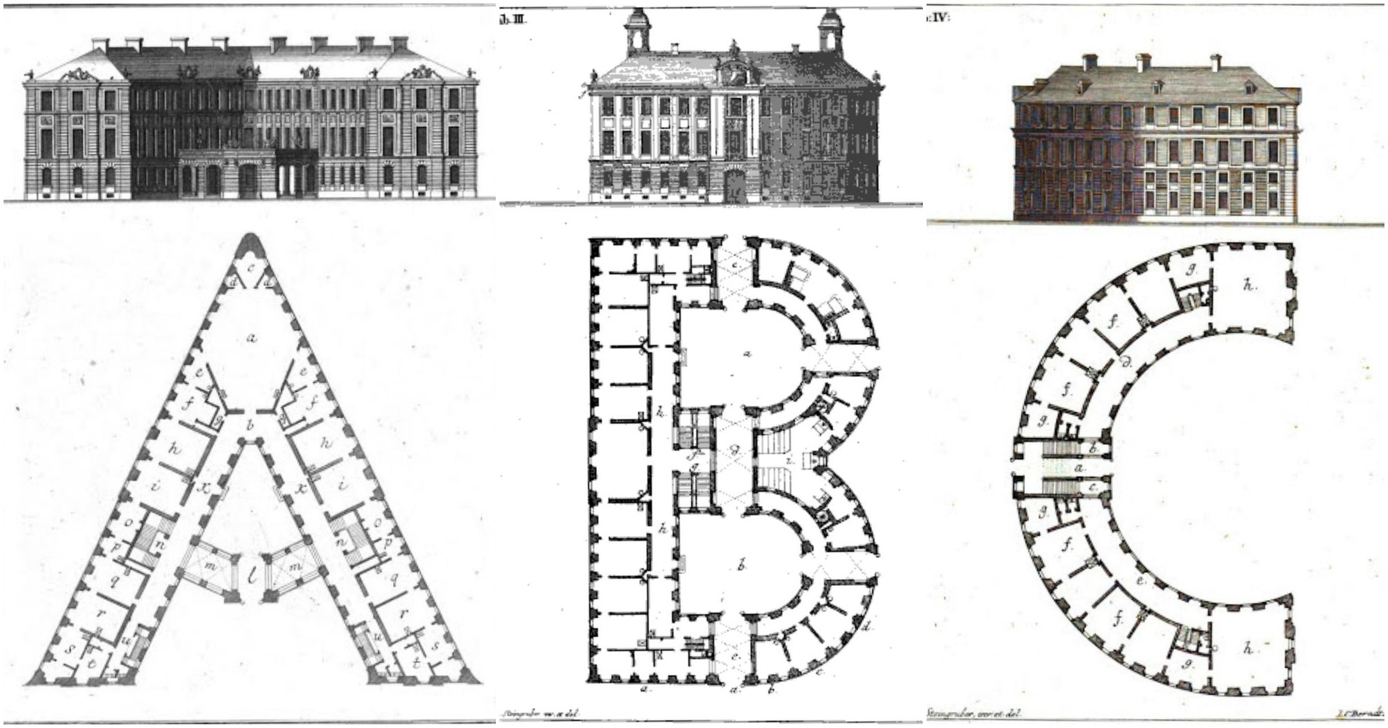 Here S What The Alphabet Looks Like When Converted Into Baroque Palace Designs Archdaily