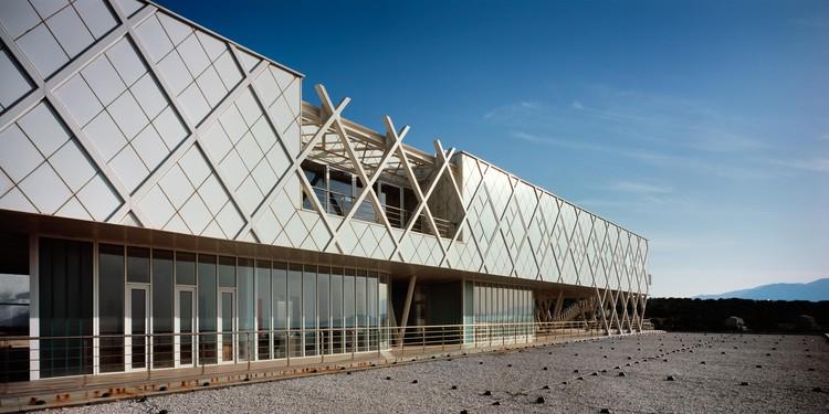 Centre for Plasma Physics and Lasers / Sparch Sakellaridou - Papanikolaou Architects, © Erieta Attali
