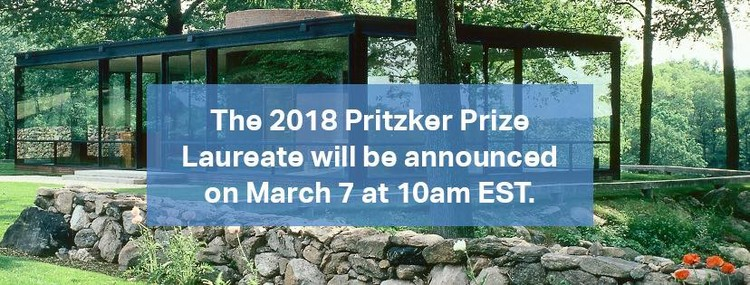 2018 Pritzker Prize To Be Announced March 7th, via The Hyatt Foundation | Pritzker Architecture Prize