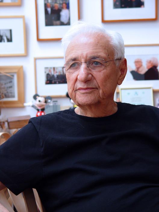 Frank Gehry, Pritzker 1989. Image © Alexandra Cabri