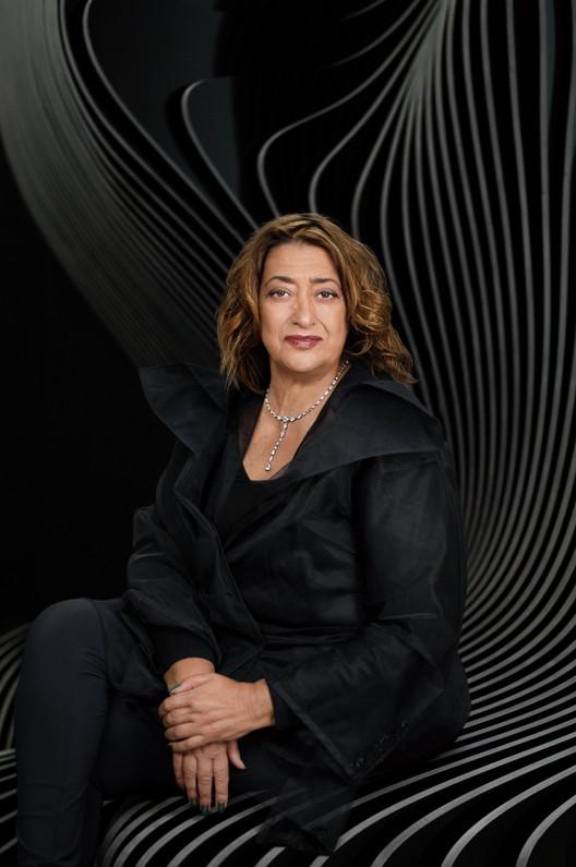 Zaha Hadid, Pritzker 2004. Image © Mary McCartney
