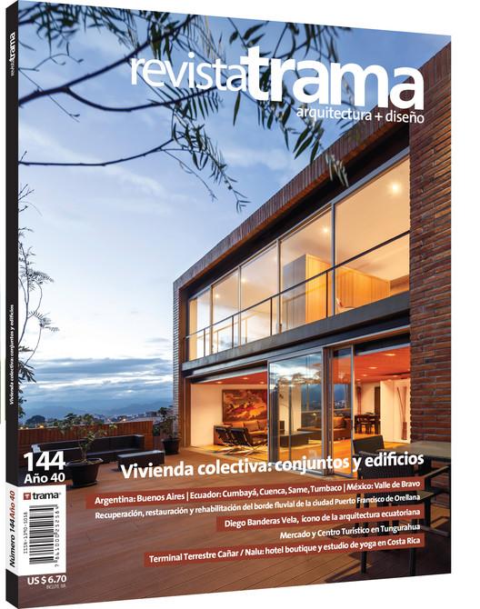Revista Trama 144. Vivienda colectiva: conjuntos y edificios, Revista TRAMA 144. Image Cortesía de Revista TRAMA