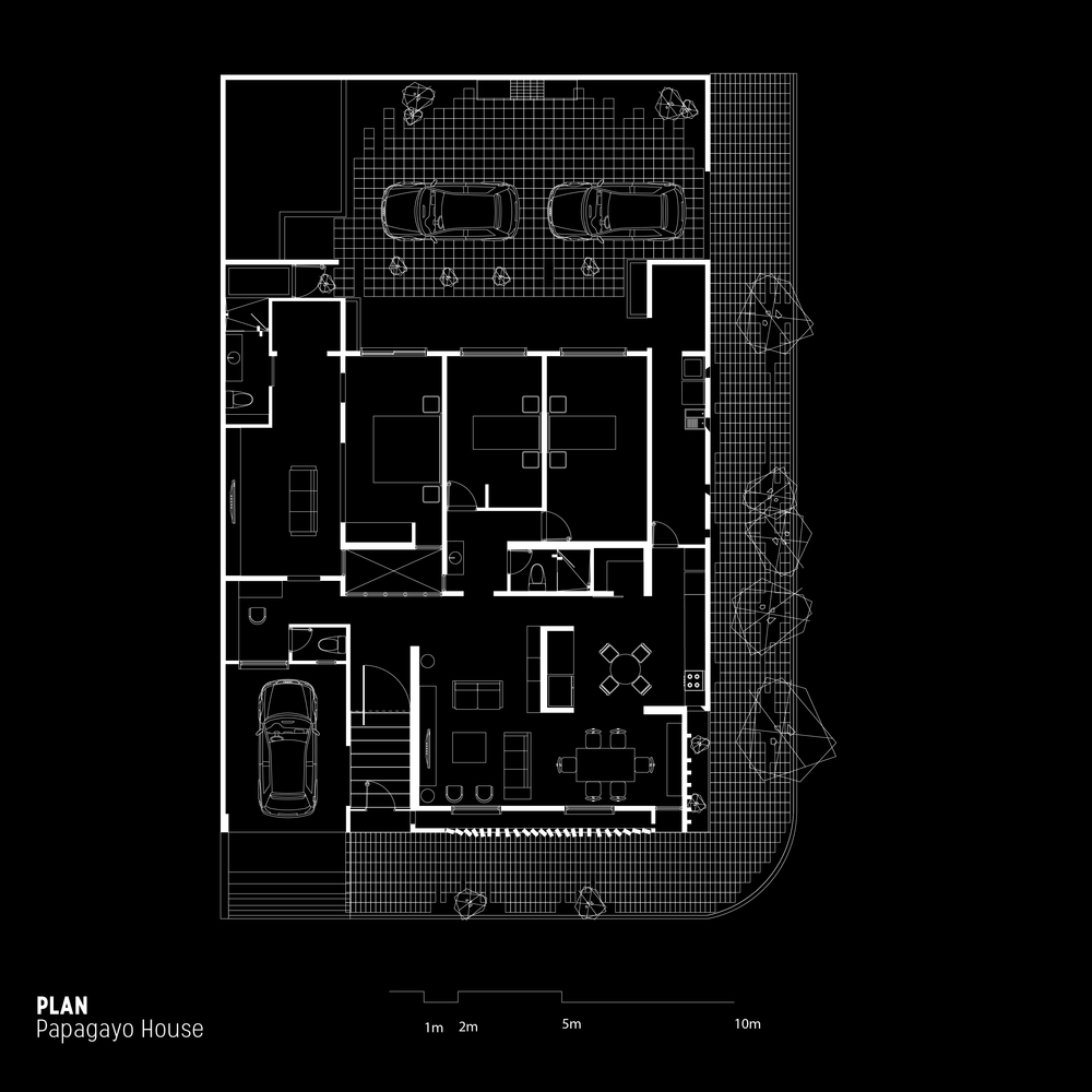 Gallery of Papao House / Ariel Valenzuela + Diego Ledesma - 33 on christmas story house floor plan, gatsby house floor plan, barbie house floor plan, incredibles house floor plan, frodo baggins house floor plan,