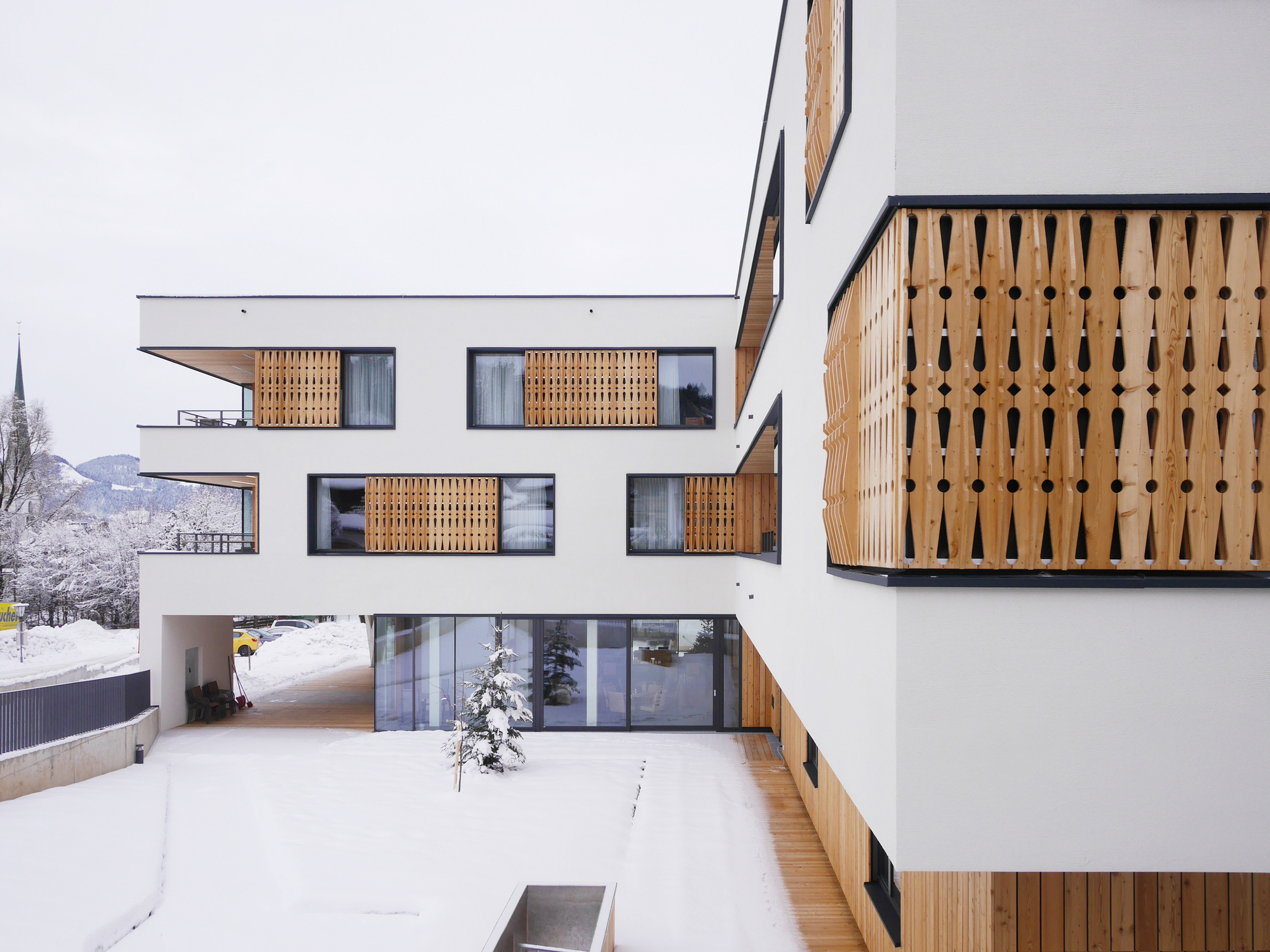 Retirement and nursing home wilder kaiser srap sedlak rissland d rschinger architekten - Durschinger architekten ...
