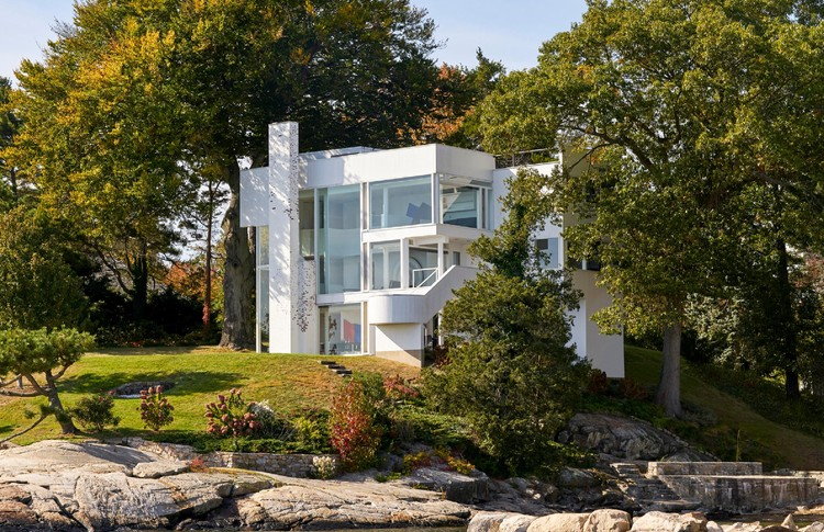 Ad Classics Smith House Richard Meier Partners Archdaily