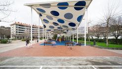Cubierta para el parque infantil Igerain-Gain / Iñigo Peñalba Arribas