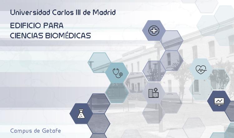 Concurso de ideas: edificio de Ciencias Biomédicas en campus de Getafe de la UC3M en España, OCAM; Oficina de Concursos; COAM; Colegio Oficial de Arquitectos de Madrid