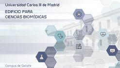 Concurso de ideas: edificio de Ciencias Biomédicas en campus de Getafe de la UC3M en España