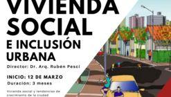 Curso Virtual Vivienda Social e Inclusión Urbana