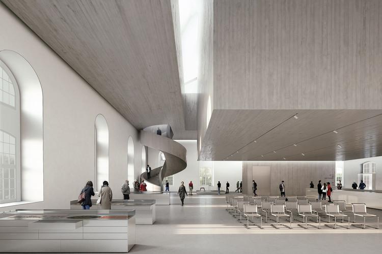 Nieto Sobejano Arquitectos diseñará el Archivo de las Vanguardias en Alemania, Cortesía de Nieto Sobejano