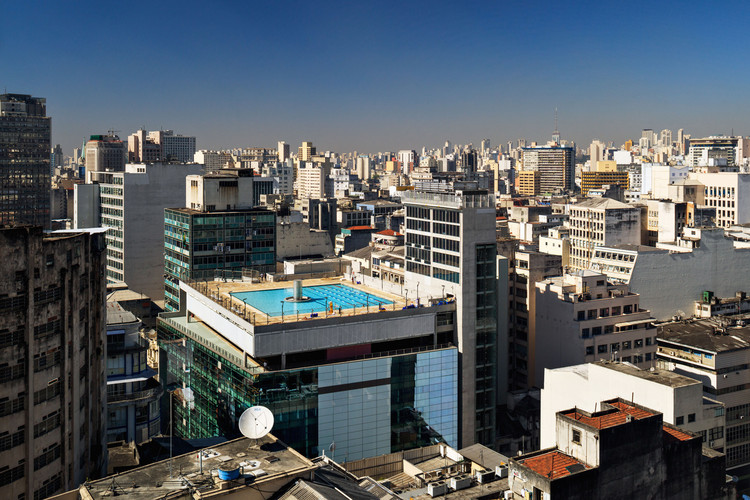 Sesc 24 de Maio / Paulo Mendes da Rocha + MMBB Arquitetos, © Nelson Kon