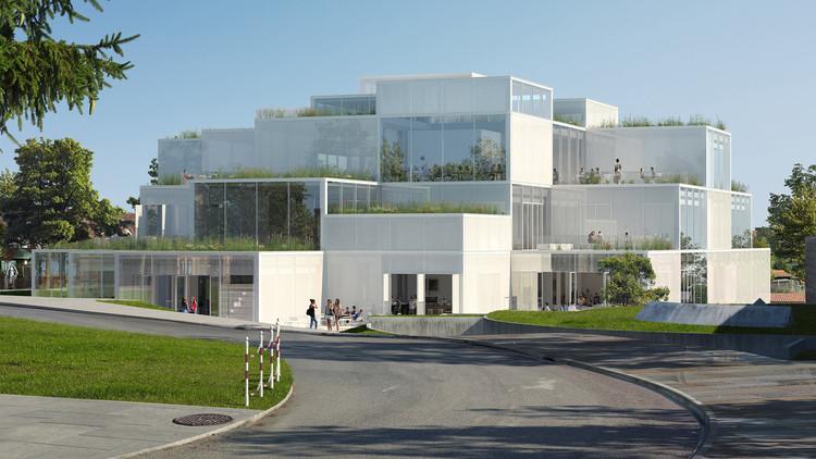 Sou Fujimoto Architects diseñará centro de aprendizaje de la Universidad de St. Gallen en Suiza, © Sou Fujimoto Architects. Courtesy University of St. Gallen